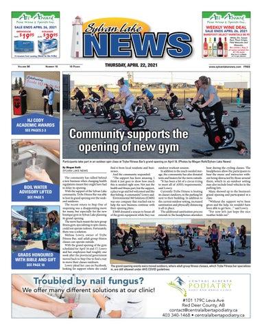 Sylvan Lake News, April 22, 2021