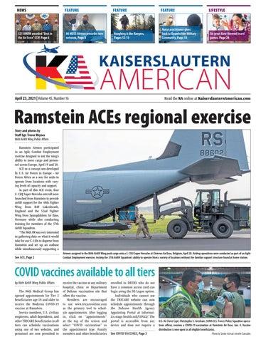 Kaiserslautern American - April 23, 2021