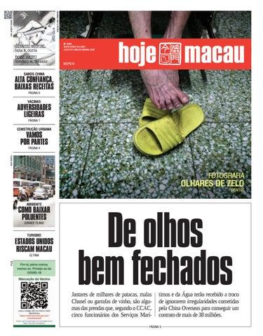 Hoje Macau 23 ABRIL 2021 #4754
