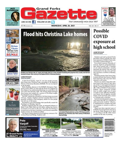 Grand Forks Gazette/West Kootenay Advertiser, April 28, 2021