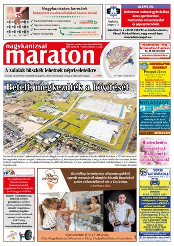 Nagykanizsai Maraton - 2021. 04. 30.