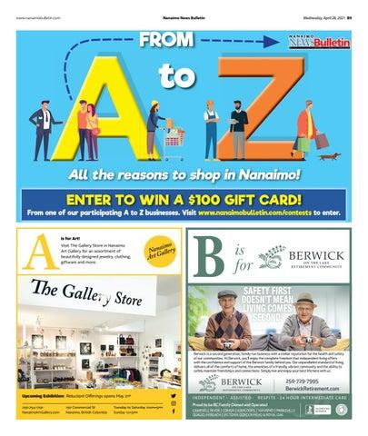 A to Z in Nanaimo - April 28, 2021