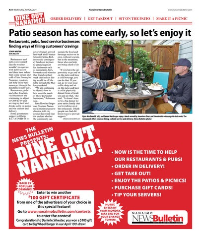 Dine Out Nanaimo - April 28, 2021