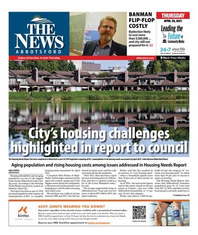 Abbotsford News, April 29, 2021