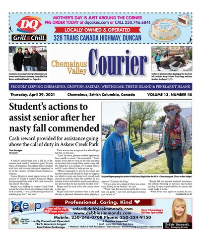 Chemainus Valley Courier, April 29, 2021