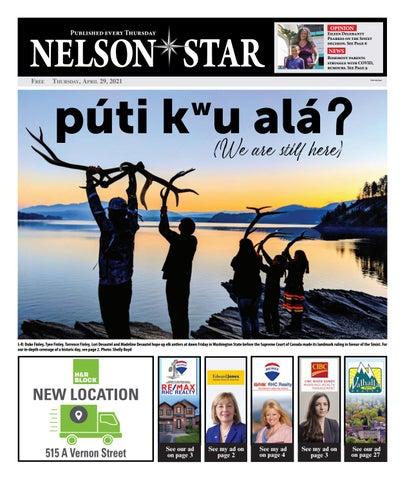 Nelson Star/West Kootenay Advertiser, April 29, 2021