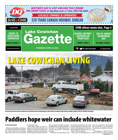 Lake Cowichan Gazette, April 29, 2021