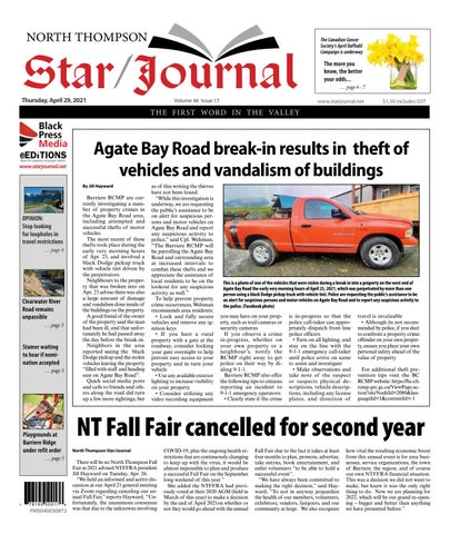 Barriere Star Journal, April 29, 2021