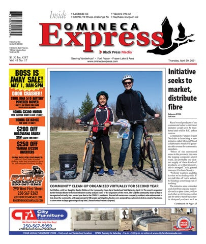 Vanderhoof Omineca Express/Stuart Nechako Advertiser, April 29, 2021
