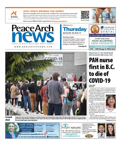 Peace Arch News, April 29, 2021