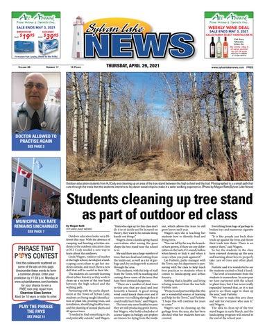 Sylvan Lake News, April 29, 2021