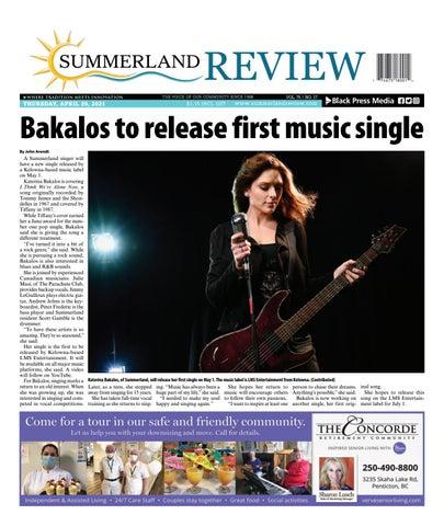 Summerland Review, April 29, 2021