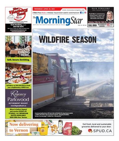 Vernon Morning Star, April 29, 2021