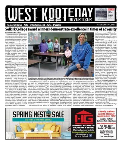 Grand Forks Gazette/West Kootenay Advertiser, April 29, 2021