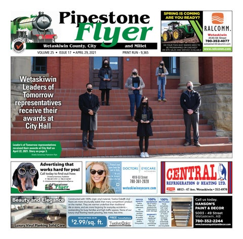 Wetaskiwin/Millet Pipestone Flyer, April 29, 2021