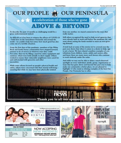 Our People, Our Peninsula April 2021