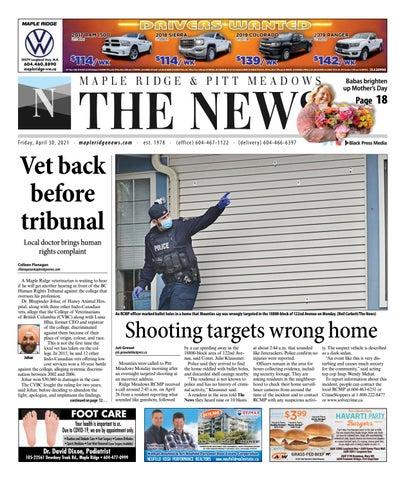 Maple Ridge News, April 30, 2021