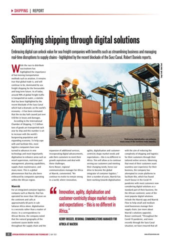 Simplifying shipping through digital solutions