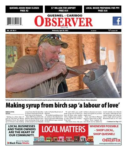 Quesnel Cariboo Observer, April 28, 2021
