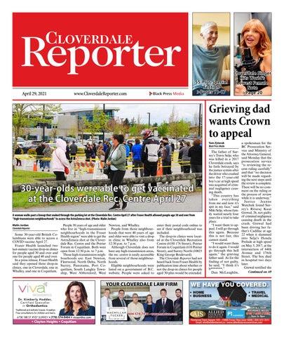 Cloverdale Reporter, April 29, 2021