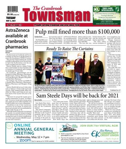 Cranbrook Daily Townsman, May 4, 2021