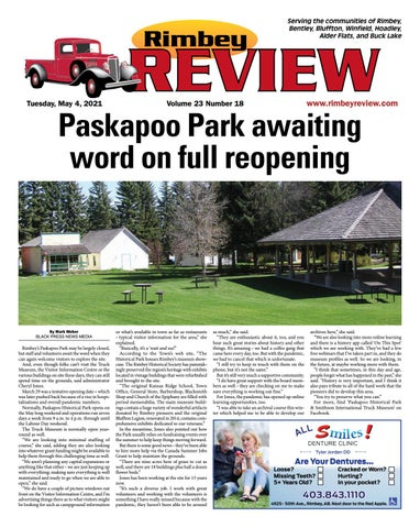 Rimbey Review, May 4, 2021