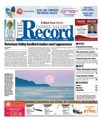 Comox Valley Record, May 5, 2021
