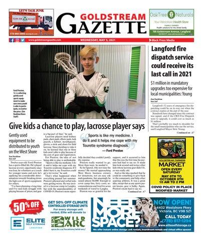 Goldstream News Gazette, May 5, 2021