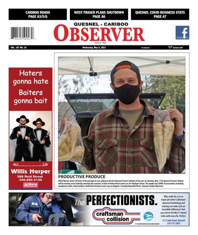 Quesnel Cariboo Observer, May 5, 2021