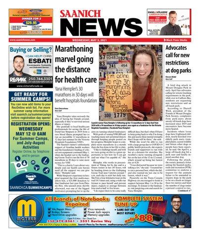 Saanich News, May 5, 2021