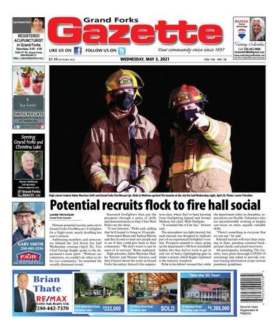 Grand Forks Gazette/West Kootenay Advertiser, May 5, 2021