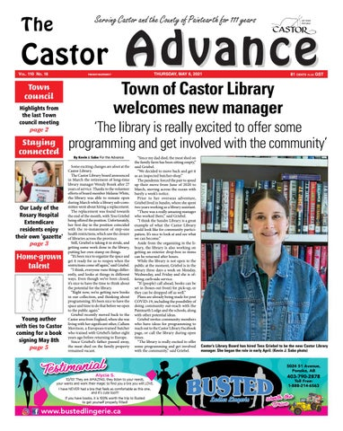Castor Advance, May 6, 2021