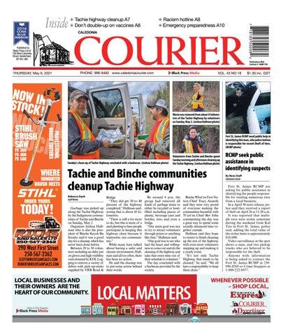 Caledonia Courier/Stuart Nechako Advertiser, May 6, 2021