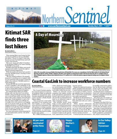 Kitimat Northern Sentinel/Northern Connector, May 6, 2021
