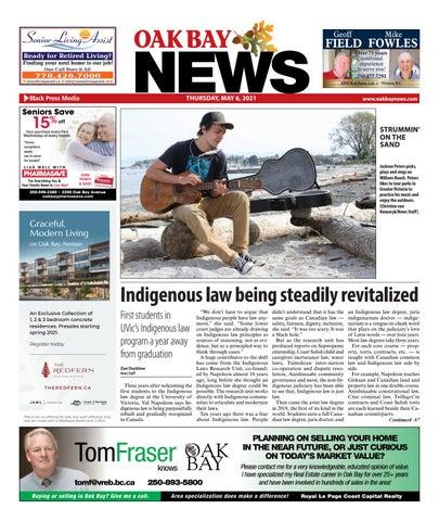 Oak Bay News, May 6, 2021