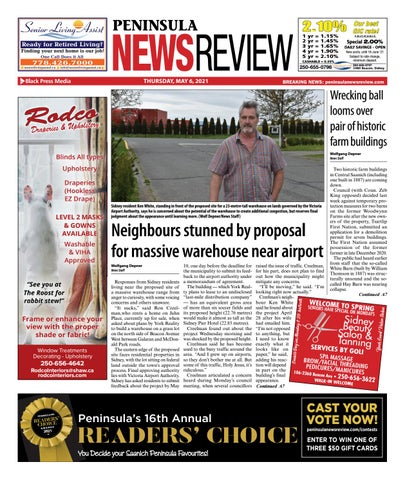 Peninsula News Review, May 6, 2021