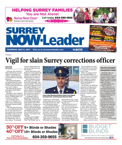 Surrey Now Leader, May 6, 2021