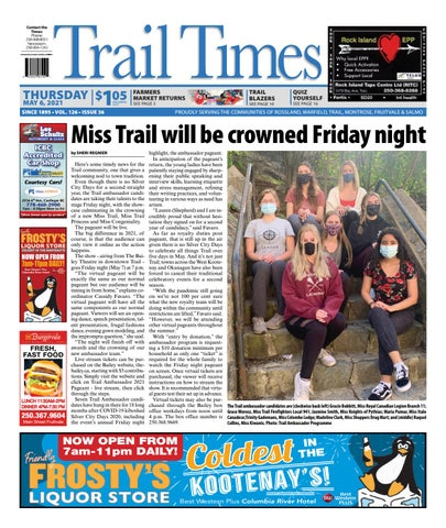 Trail Daily Times/West Kootenay Advertiser, May 6, 2021