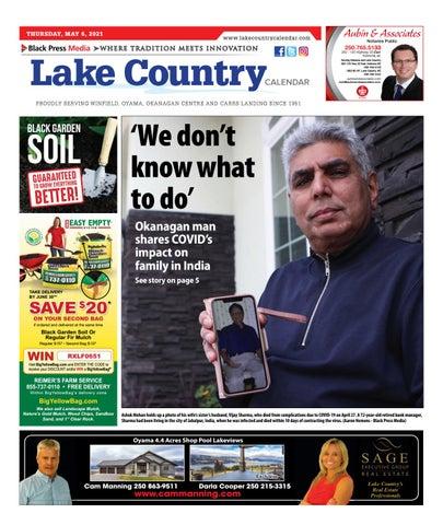 Lake Country Calendar, May 6, 2021