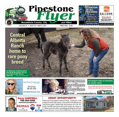 Wetaskiwin/Millet Pipestone Flyer, May 6, 2021