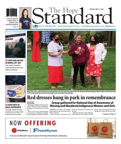 Hope Standard, May 7, 2021