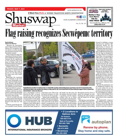 Salmon Arm Observer, May 7, 2021