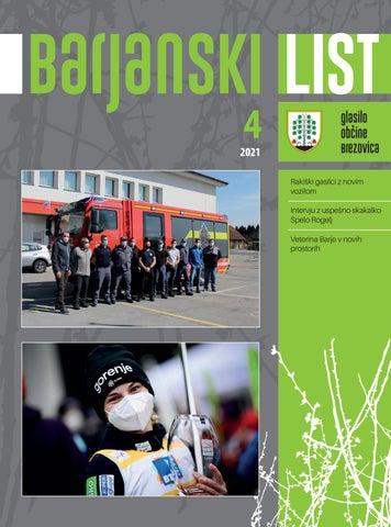 Barjanski list april 2021