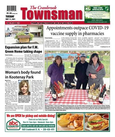Cranbrook Daily Townsman, May 11, 2021