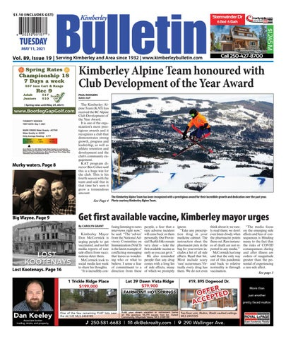Kimberley Daily Bulletin, May 11, 2021
