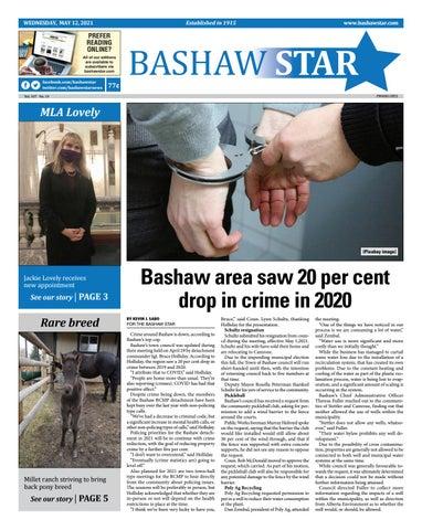 Bashaw Star, May 12, 2021