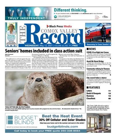 Comox Valley Record, May 12, 2021