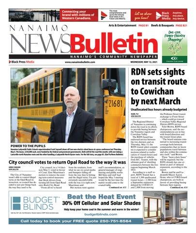 Nanaimo News Bulletin, May 12, 2021
