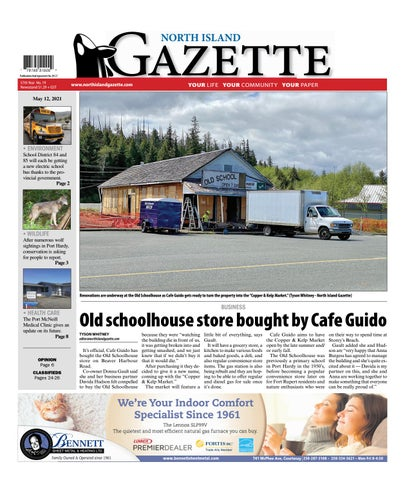 North Island Gazette, May 12, 2021