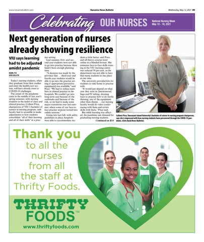 Celebrating Our Nurses - May 12, 2021